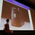 WISH2009 大賞の様子 賞品のハードディスクドライブ