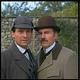「シャーロック・ホームズの冒険」よりホームズ(ジェレミー・ブレット)&ワトソン(デヴィッド・バーク)  - TV Times via Getty Images