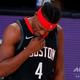 米プロバスケットボール、ヒューストン・ロケッツのダニュエル・ハウス(2020年9月11日撮影)。(c)AFP