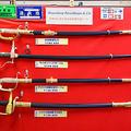 一番上の刀が「自衛隊儀礼刀」18万円(税込み)