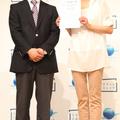 イベントに出席した三浦りさ子さん(右)とキリンMCダノンウォー