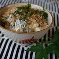 豆腐とシラスのクイック丼ゴマ油風味 by:ひだまりさん