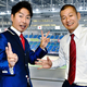U字工事・福田薫(左)と益子卓郎