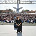 (※提供写真)万博記念公園のお祭り広場を観客で埋め尽くした、