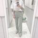 夏の韓国っぽコーデにぴったり!IGで見つけたカラースラックスのおしゃれな着こなし6つ♡