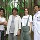 テレビ朝日『ドクターX』よりクランクインをした(左から)武田真治、市村正親、米倉涼子、勝村政信
