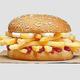 バーガーキングがニュージーランドで、フライドポテトをはさんだバーガーを発売した/Burger King New Zealand