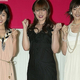 TBS『赤いシリーズ2005』制作発表に登場した(写真左から)石原さとみ、深田恭子、綾瀬はるか('05年5月)