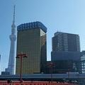 浅草のシンボルが見えなくなった?=2017年11月7日午前、東京都