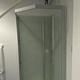 市川市の市長室にあるトイレに設置工事中のシャワールーム=市川市提供