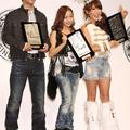 (左から)桐谷健太さん、板野友美さん、はるな愛さん