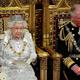 英ロンドンの国会議事堂で行われた議会開会式に臨むエリザベス女王(2019年10月14日撮影)。(c)AFP=時事/AFPBB News