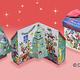 銀座コージーコーナー、飾れるクリスマス限定スイーツBOX販売開始。11月1日より