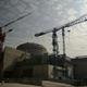 中国・広東省で建設中の台山原子力発電所(2013年12月8日撮影、資料写真)。(c)PETER PARKS / AFP