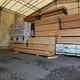 木材が品薄となり、在庫が大幅に減って空きスペースが増えた埼玉県越谷市の木材商社倉庫=5月27日