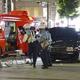 歩道にタクシー7人重軽傷 名古屋の駅ロータリー、男逮捕