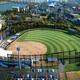 佐賀県唐津市野球場の完成イメージ(市提供)