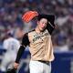 23日の中日戦で3回5失点で降板した吉田輝星=ナゴヤドーム