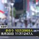 東京都で新型コロナ感染が拡大 通勤客「毎日来るのが不安」