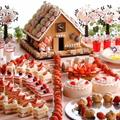 童話「お菓子の家」を桜×いちごで春らしく♡シ