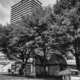 (写真)聖火リレーのスタート地点となる西武線東村山駅東口=17日、東京都東村山市