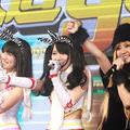左から:SKE48の平田璃香子、高田志織、古川愛李