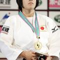 48kg級優勝の近藤亜美 (2013年11月29日、撮影:二宮渉/フォー