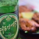 アセアン北レスでは2号ビール(主に海外輸出用の製品)以外の種類も混在して提供されている大同江ビール