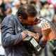 全仏オープンテニスを制したラファエル・ナダル(2019年6月9日撮影)。(c)Philippe LOPEZ / AFP