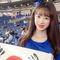プレミア12日韓戦に美少女チアドルも来日!!「日本での応援は初めてです」
