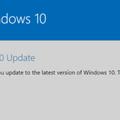 Windows 10 Update Assistantの画面