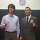 (写真右より)勝村周一朗総合プロデューサー、共同主催の相原雄一オアシス代表取締役