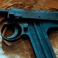 十四年式拳銃のアップ(でみすけさん提供)