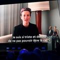 アメリカ女子代表のミーガン・ラピノーはビデオメッセージを寄せ