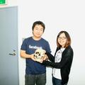 左:クルーク代表取締役片桐孝憲氏、右:ライブドアデザイナーま