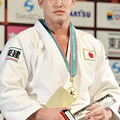 90kg級で優勝した、ベイカー茉秋 (2013年12月1日、撮影:フォ