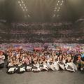 乃木坂46らメンバーが多くの観客をくぎ付けに!/(C)NTV