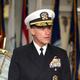 ジョン・アキリーノ米太平洋艦隊司令官=2018年10月、韓国南部・済州島(EPA時事)