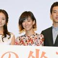 木村文乃&水川あさみと、劇中では結構な扱いを受けたという三