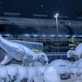フクイラプトル(左)とフクイサウルス(右)(tomosakiさんのツ