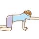 目指すは筋力アップ! 腰痛持ちでもできる「四つん這い腰痛体操」