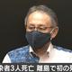 沖縄県の離島で初の死者 きょう新たに県内で52人が感染、3人が死亡 新型コロナウイルス