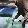 『ジャックと天空の巨人』3Dトリックアート制作風景