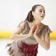<西日本フィギュアスケート選手権第2日>女子フリー、演技をする白岩優奈(撮影・小海途 良幹)