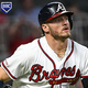 ATLANTA, GA - APRIL 13: Josh Donaldson #20 of the Atlanta Braves watches his ball during the second inning against the New York Mets at SunTrust Park on April 13, 2019 in Atlanta, Georgia. The Braves won 11-7. (Photo by John Amis/Getty Images)