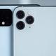 Google PixelとiPhoneの画像