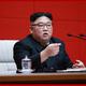 4月10日の朝鮮労働党中央委員会第7期第4回総会を指導した金正恩氏(2019年4月11日付朝鮮中央通信)