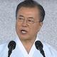 光復節に際して演説を行った文在寅大統領(韓国青瓦台提供)
