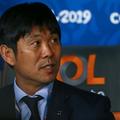11月の代表戦に異例の2チーム編成で臨む日本代表の森保監督 phot