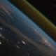 宇宙から見たロケット打ち上げ光景 ISSからの眺望が美しい動画